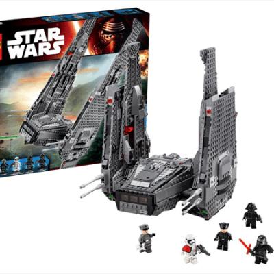 LEGO Star Wars Kylo Ren's Command Shuttle, lego til børn, altid gode tilbud på legetøj
