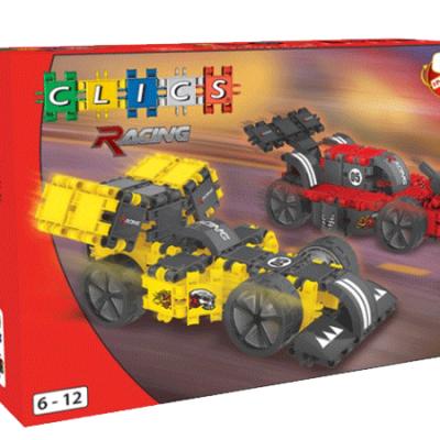 Clics Racing 140 dele, byggesæt til børn, altid gode tilbud på legetøj