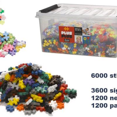 Plus Plus Mini 6000 dele, plus plus legetøj til børn, altid gode tilbud på legetøj