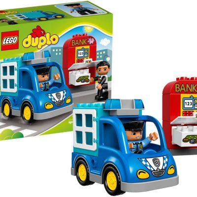 LEGO DUPLO Politipatrulje, stort udvalg af lego, altid gode tilbud på legetøj