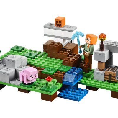 LEGO Minecraft Jerngolem, lego til børn