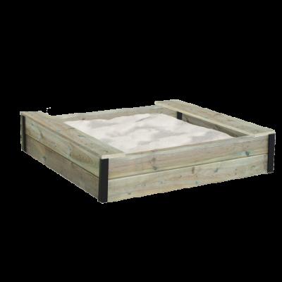 ABELEG.DK - Sandkasse med sæder, træ - NS211530