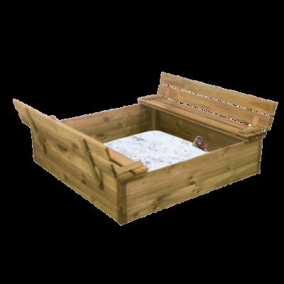 ABELEG.DK - Sandkasse med bænk og låg - NS805701