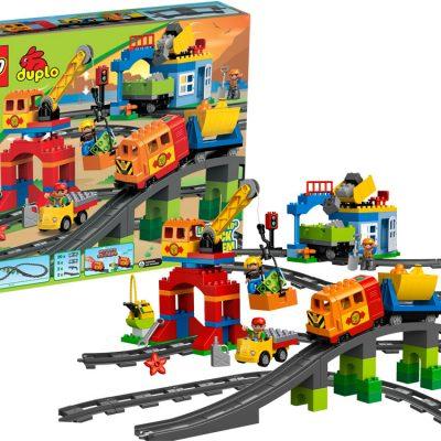 LEGO DUPLO Luksus togsæt, lego til børn, altod gode tilbud på legetøj til børn