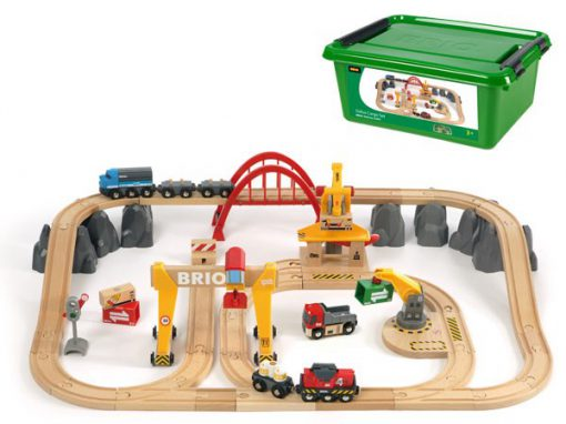 Brio togbane 50 dele, gode tilbud på legetøj til børn, trælegetøj fra brio