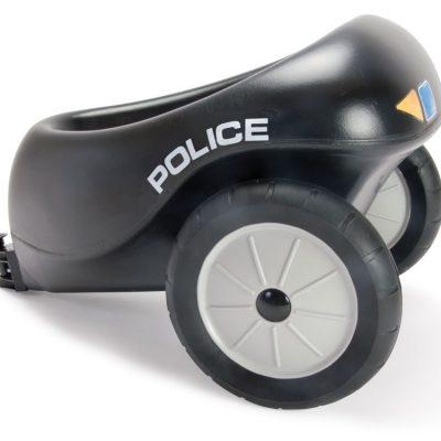 Dantoy Politianhænger med gummihjul, gode tilbud på legetøj til børn