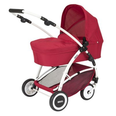 161820 Brio barnevogn rød
