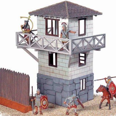 192309 romersk borg-tårn