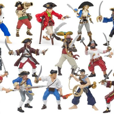 Papo Piratfigurer 15 stk.