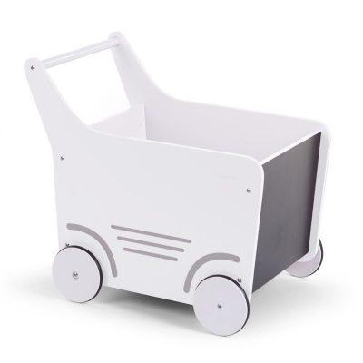 Childhome gåvogn i hvid