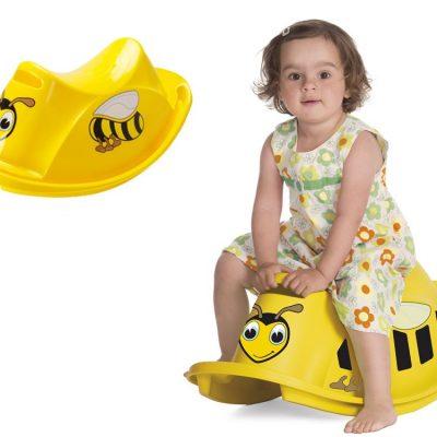 Vippegynge til 1 barn, Bi, motorik legetøj til børn, gode tilbud