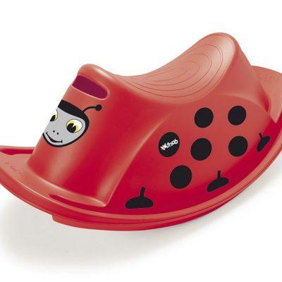 Vippegynge til 1 barn, Mariehøne, motorik legetøj til børn, gode tilbud på legetøj