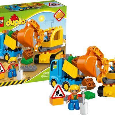 DUPLO Lastbil og gravemaskine på larvefødder, gode tilbud på legetøj
