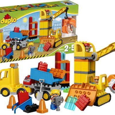 DUPLO Stor byggeplads 65 dele, kvalitets legetøj, tilbud