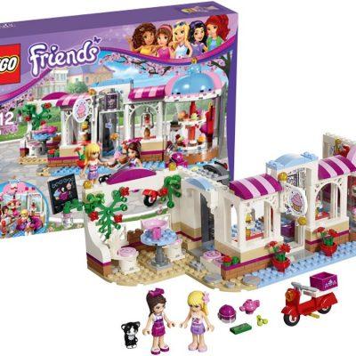 LEGO Friends Heartlake cupcake-cafe, kvalitets legetøj, altid gode tilbud hos abeleg.dk