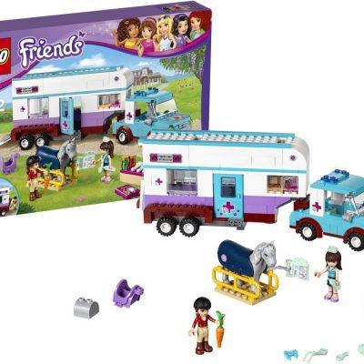 LEGO Friends Dyrlægens hestetrailer, Stort udvalg fra lego, kvalitets legetøj