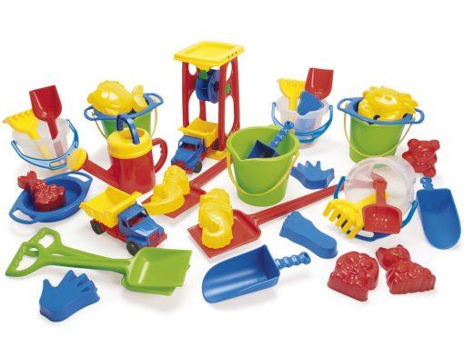 Dantoy Sandsæt 38 dele, sandlegetøj til børn