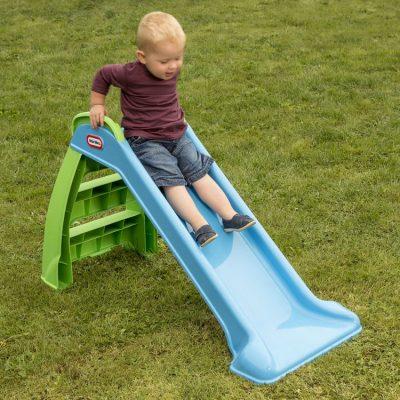 Little Tikes Rutschebane Junior Blå, gode tilbud på legetøj til børn