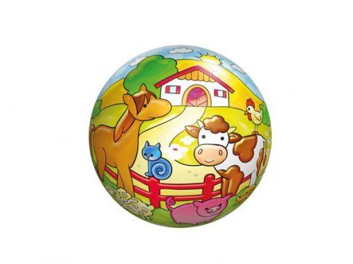 Bold plast 11,5 cm, bondegårdsdyr, legetøj til børn, altid gode tilbud