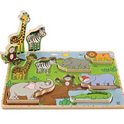 Puslespil Safaridyr