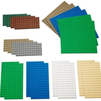 LEGO Byggeplader små 22 stk., byggeplader til lego, lego til børn