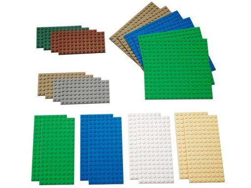 LEGO Byggeplader små 22 stk.