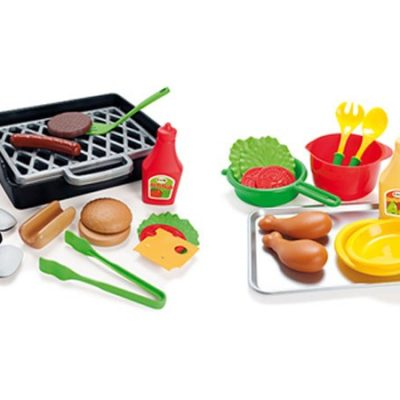 Dantoy BBQ Legesæt 33 dele dantoy legetøj til børn