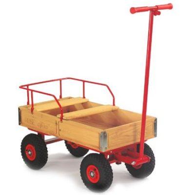 Trækvogn med 2 sæder