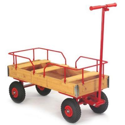 Trækvogn med 3 sæder
