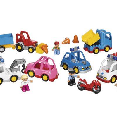 LEGO DUPLO Køretøjer 32 dele, stort udvalg af legetøj til børn altid gode tilbud og rabatter på legetøj og lego