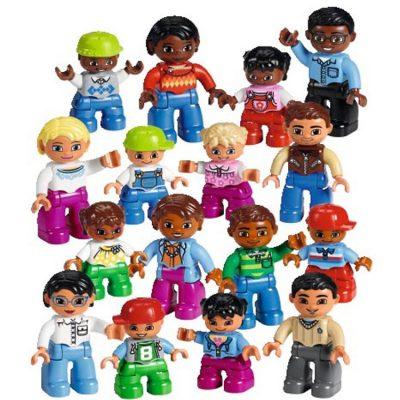 LEGO DUPLO Figurer fra hele verden 16 dele, figure fra lego duplo, altid gode tilbud og mange rabatter på legetøj til børn, lego og lego duplo