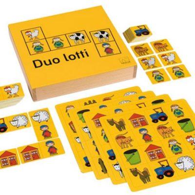 Billedlotteri Duo, spil og puslespil til børn, altid gode tilbud og rabatter på legetøj til børn