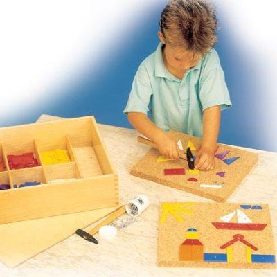 Hammermosaik Stor, 288 figurer, stort udvalg af legetøj til børn, gode tilbud og rabatter på legetøj