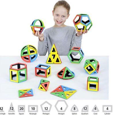 Polydron Magnetsæt Matematik 118 dele