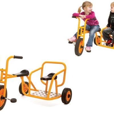 Rabo Cykel med sidevogn 3+, institutions cykel til børn