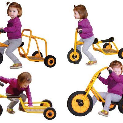 Rabo Cykler 4 stk., institutions cykler til børn