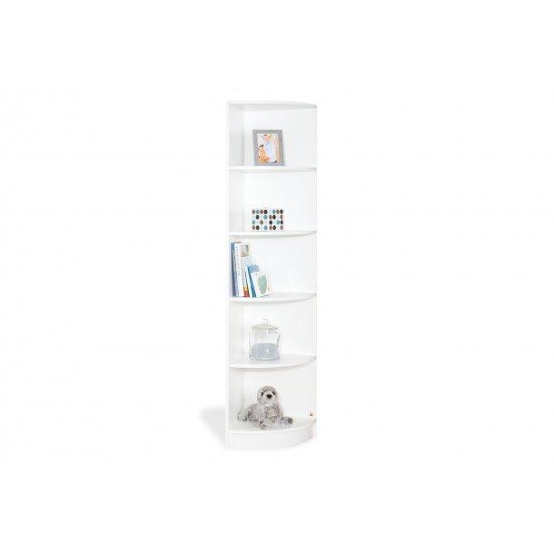 Ekstra ABELEG.DK - Kvalitetslegetøj til børn - Pinolino hjørne reol hvid WK13