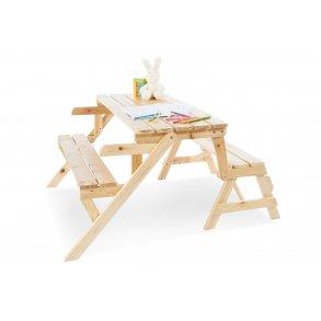 Pinolino børne havemøbel og havebænk