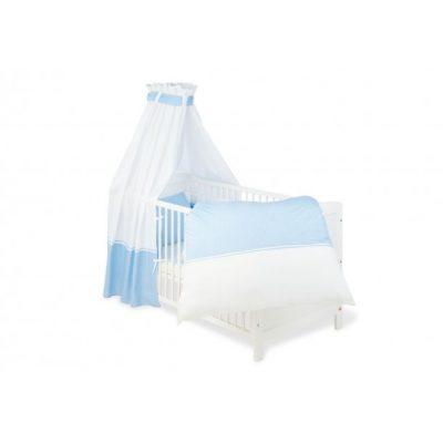 Pinolino sengetøj 4 dele Vichy-Karo/Blå