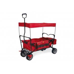 Pinolino trækvogn med parkeringsbremse