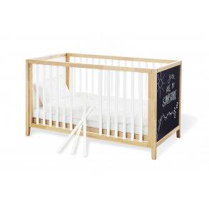 Pinolino seng med kridttavle 149 x 79 cm