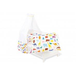 Pinolino Textile Udstyr til barneseng, 'Happy Zoo', 4 dele