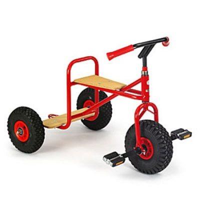 Cykel Trehj. m platform + luft-hjul 4+