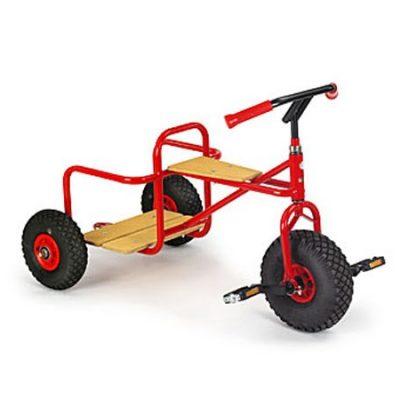 Cykel Gladiator m luft-hjul, Rose 4+