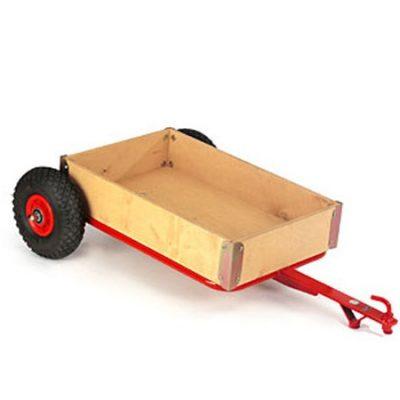 Anhænger kasse L104 m luft-hjul, Rose