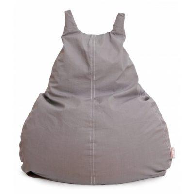 Roommate sækkestol grå