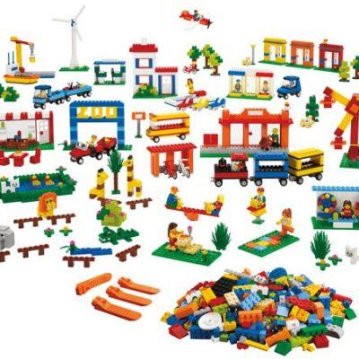 LEGO Bysamfund 1907 dele 4+