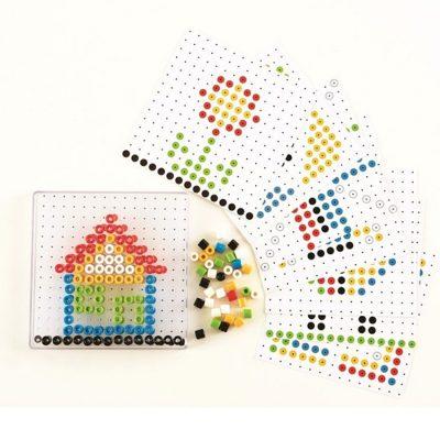 Mosaik perler 129 dele