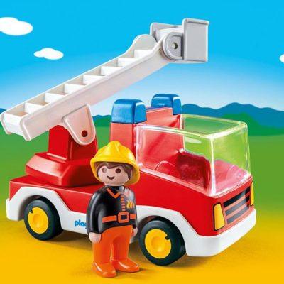 Playmobil 123 Brandbil med stige