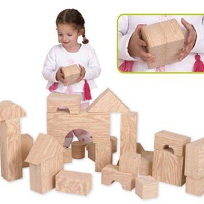 Soft Blocks Wood like